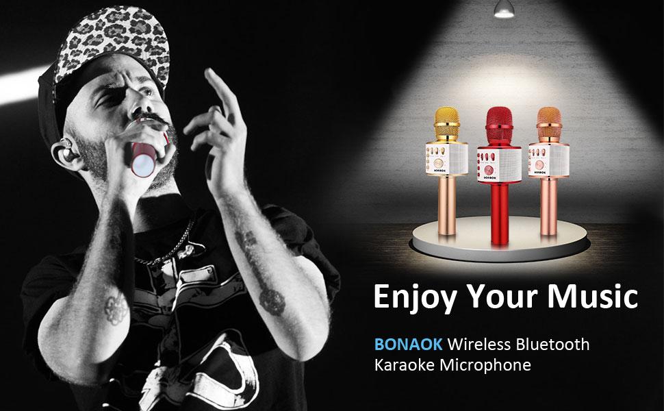karaoke mikrofon bluetooth mit aufnahme,karaoke mikrophon bluetooth,microphone karaoke bluetooth