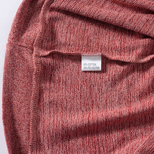 High quality cotton blend fabric