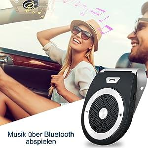 Musik über Bluetooth abspielen