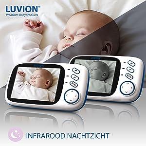 babyphone, babyfoon, babymonitor, baby monitor, nachtzicht