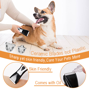 USB Rechargeable Dog Shaver