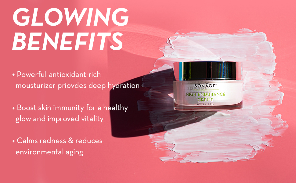 Sonage Skincare High Endurance Creme moisturizer face facial cream night for woman skin care