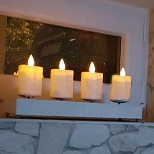 window candle