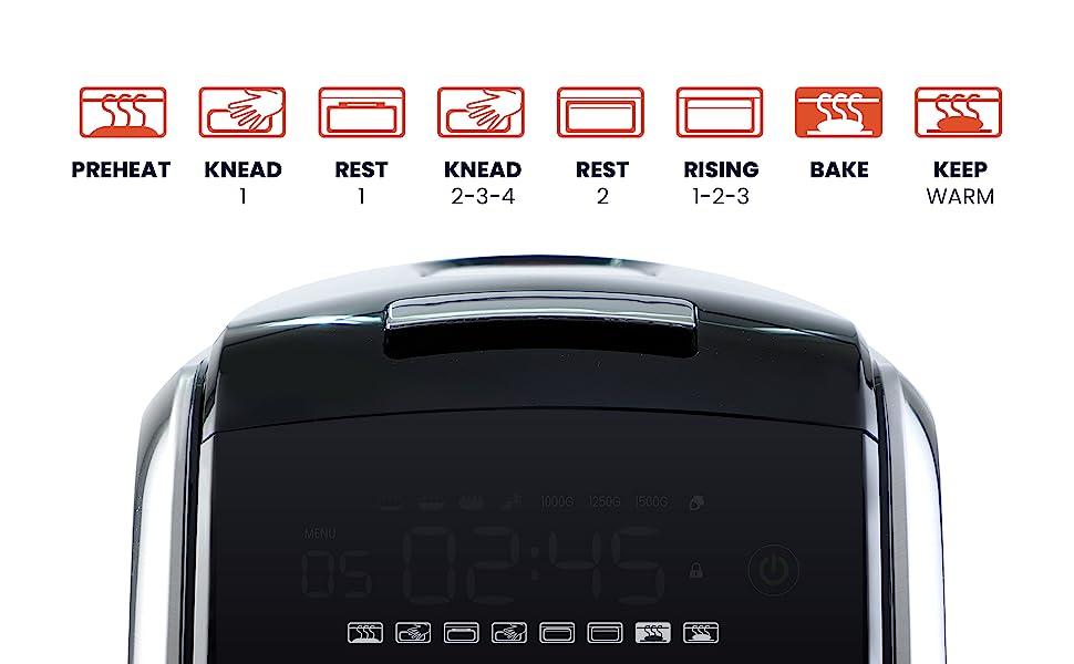 Saki Bread Machine, Bread Maker