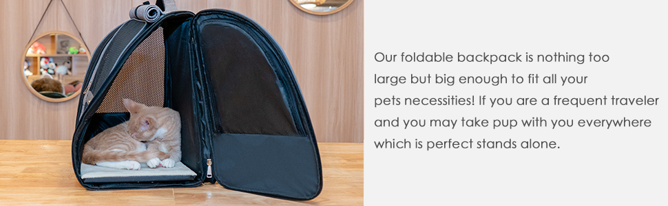 cat carriers large pet carrier Pet Carrying Hiking Traveling Backpack Dog Carrier Backpack outdoor