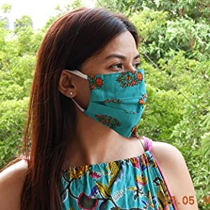 Women with facemask