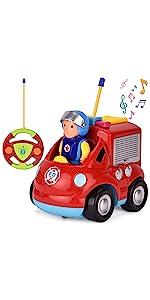 rc cartoon fire truck