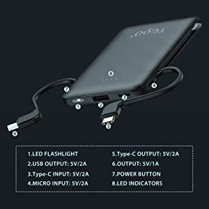 portable charger for iphone