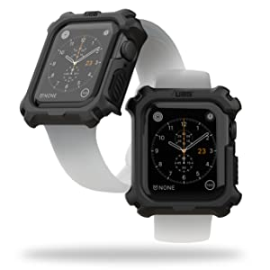 URBAN ARMOR GEAR UAG APPLE WATCH CASE 44MM BLACK, RUGGED, TOUGH, PROTECTIVE, STRONG, GUARD