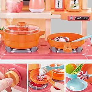 kitchen set for kids girls big size 1000