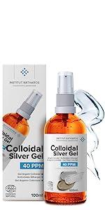 3.4 oz  gel colloidal silver