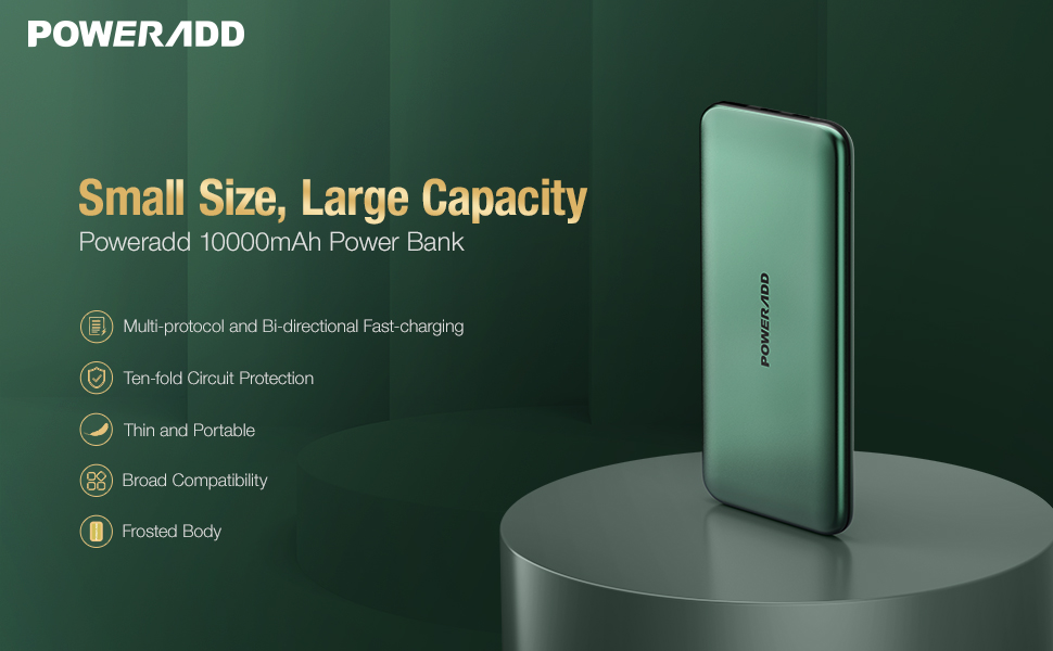 10000mAh PD20W Portable Charger
