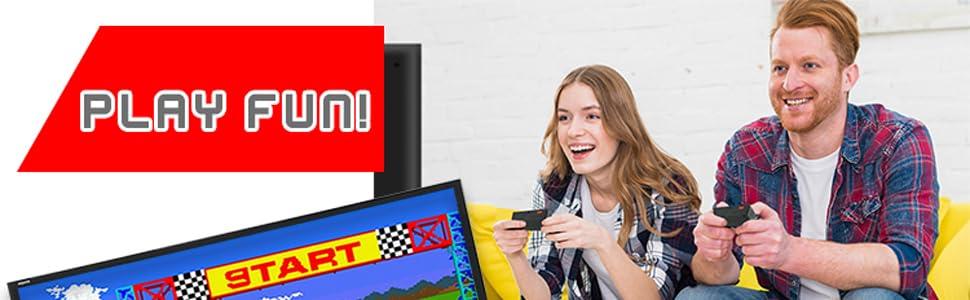 200 Games Included Retro Mini TV Console for TV Funderdome Retro Game Console 10ft RCA Cable Mini Arcade Game Retro Arcade Arcade Console