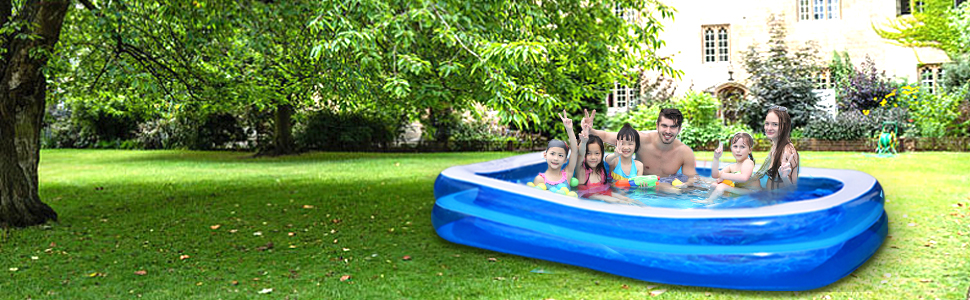 inflatable pool for family