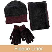 hat and gloves for women men