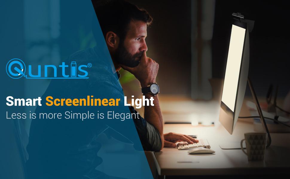 quntis smart screenlinear light