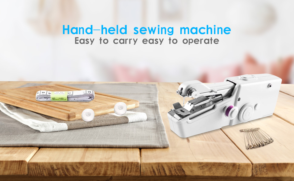 Mini Hand Sewing Machine Traveling Machine Travel Portable Sewing SewingMachi HH