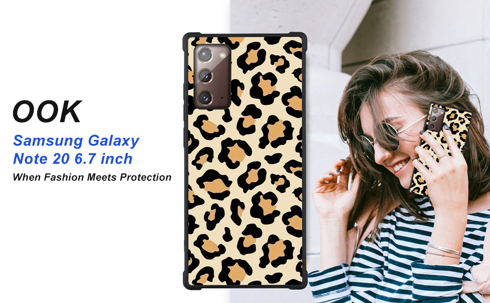 Note 20 Case Leopard Print