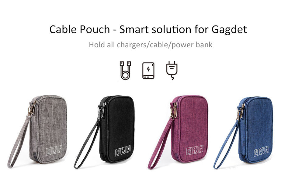 Cable Pouch Organizer