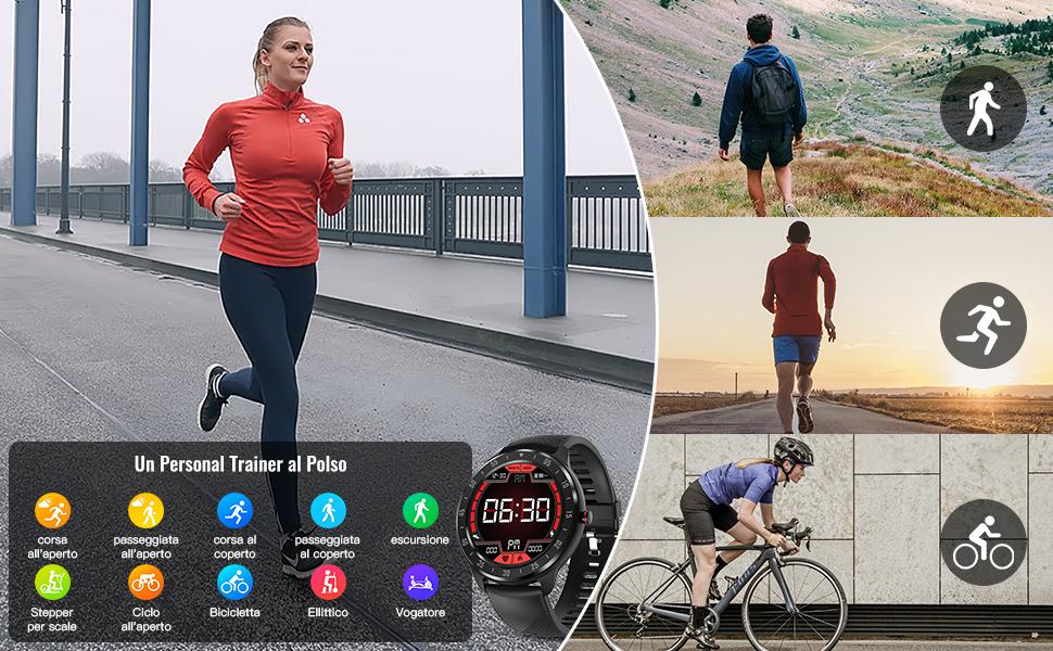 Smartwatch Orologio Fitness