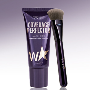 face coverage perfector and brush kit