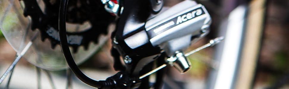 Jagwire Basics Galvanized Steel Universal Shifter Shift Cable Inner Hybrid Fitness Cruiser Bike