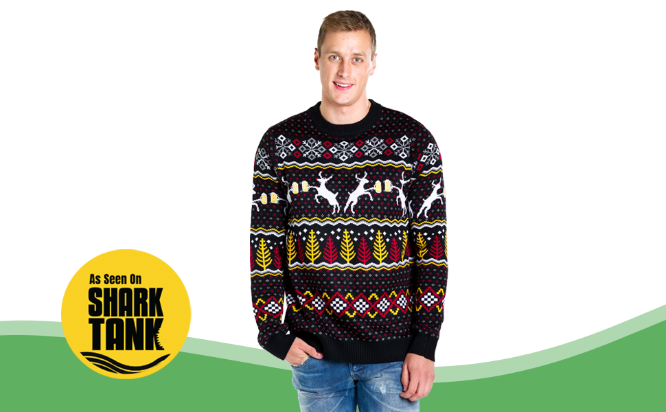 Men's Funny ugly Christmas Sweater