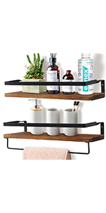 OurWarm Floating Shelves Wall