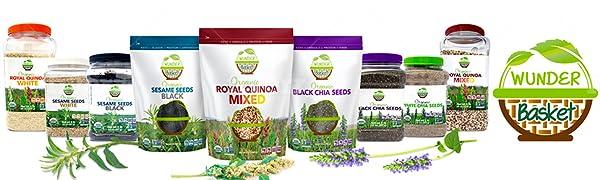 Wunder Basket Organic Chia Seeds