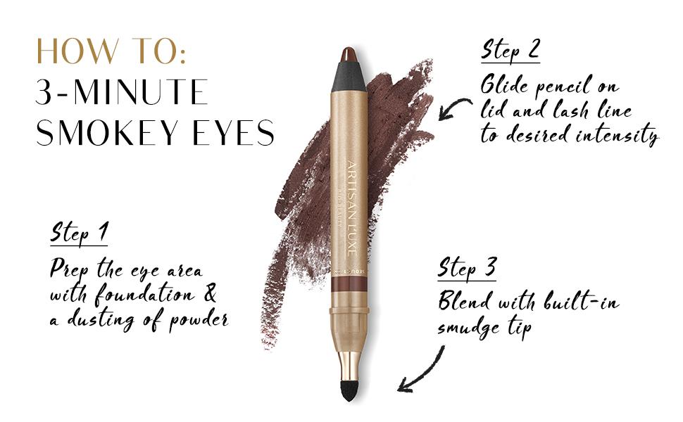 How to Achieve Smokey Eyes in 3 Steps