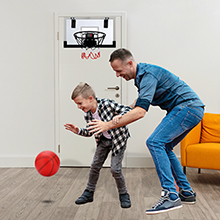 Play basketball with your kids