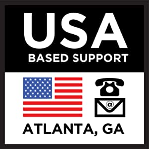 USA-based support