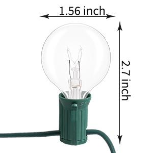 edison bulb string light