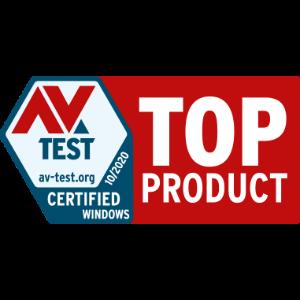 AV test top product October 2020