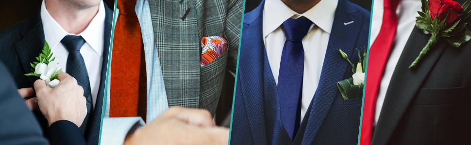 Trimming Shop Corbata Poliéster Suave para Ropa Formal, Bodas, Graduación, Celebración, Fiestas, Unisex Diseño Clásico - Azul Cielo, 5 cm de ancho