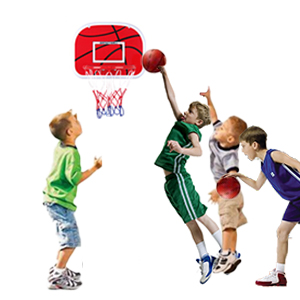 Play basketball with friends