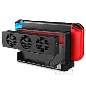 cooling fan switch docking station nintendo switch fan dock switch fan nintendo switch dock cooling