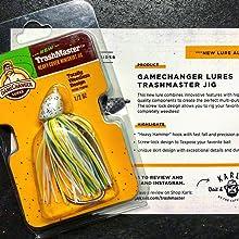 Gamechanger Lures Trashmaster Jig Bass Fishing Lure