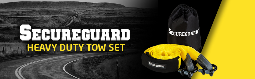 tow towing recovery rope strap