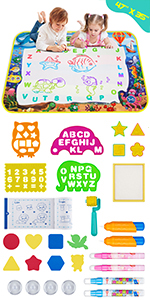 water drawing mat for kids