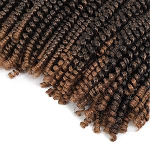 spring twist crochet hair