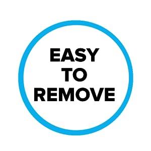 easy to remove