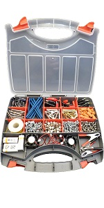 Double Sided Craft Storage Organizer Portable Carrying Case
