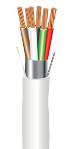 ewcs electrical wire and cable specialists 6 conductors plenum sound amp; security stranded cable