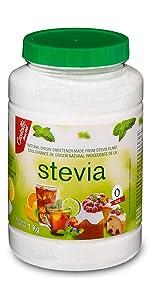 stevia 1:1 1 kg jar