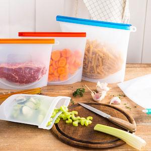 silicone bags reusable