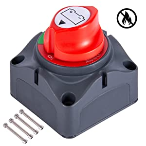 Marine Boat Battery Disconnect Switch 12V-48V
