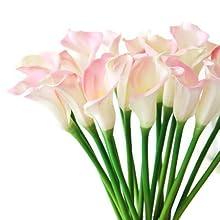 """Pink calla lily 25"""""""