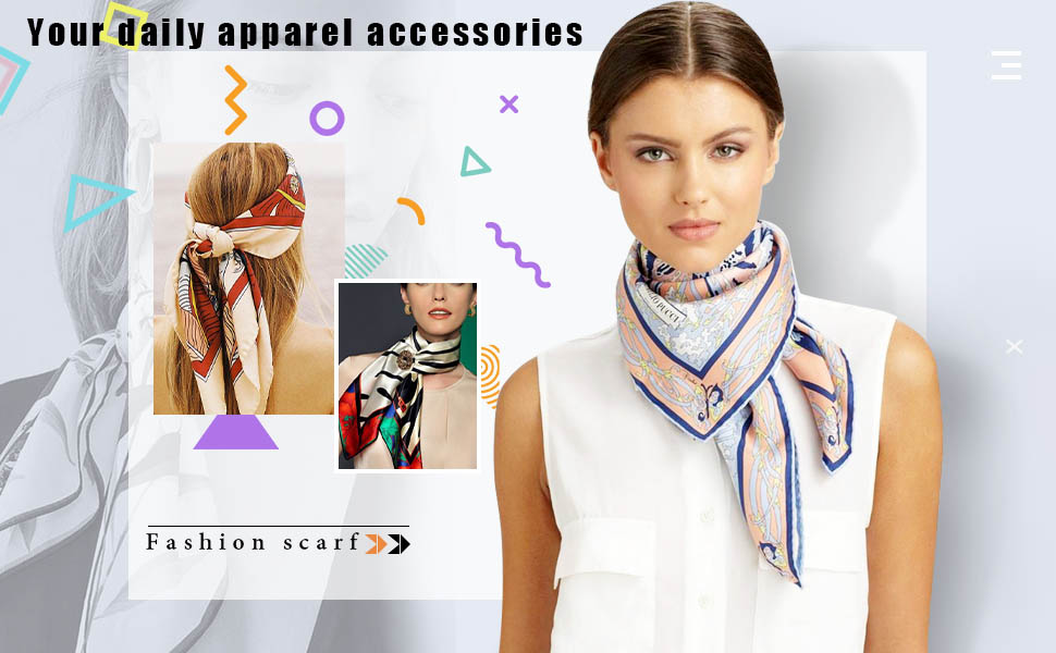 Head scarves are your daily apparel accessories