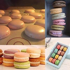 Macaron silicone mat kit set